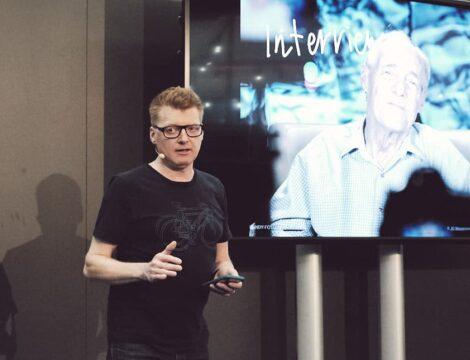 Messevortrag zum Thema mit dem Smartphone selber Fotos und Videos produzeren. Auf der Biofach in Nürnberg