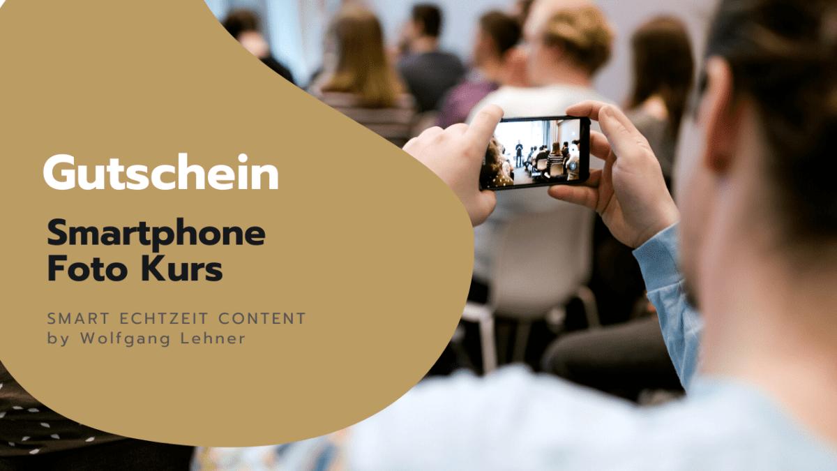 Smartphone Foto Kurs Gutschein