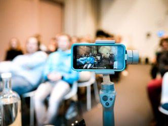 Der Gimbal ist ein hilfreiches Werkzeug für die Videoproduktion.