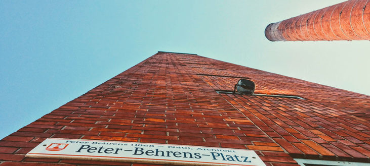 Peter-Behrens-Platz Linz Tabakfabrik