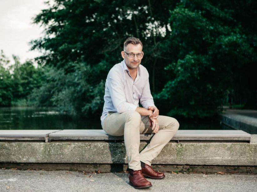 Business Portrait Linz. Thomas Turner Coach - Wolfgang Lehner Fotograf Linz