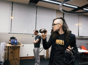 Virtual Reality Meetup Linz Tabakfabrik Linz my Playstore Eventfotografie Reportage