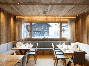 restaurant fotografie die essgalerie in der flachau. moderne innenarchitektur