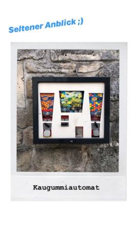 Kaugummiautomat Social Media Story