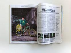 Editorial Fotografie für Bike Magazin